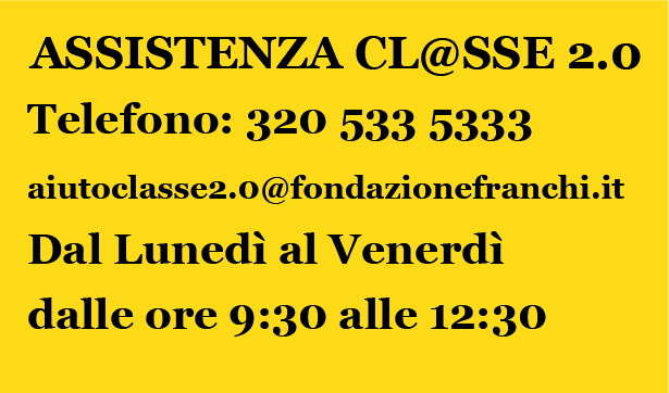 Assistenza Cl@asse 2.0